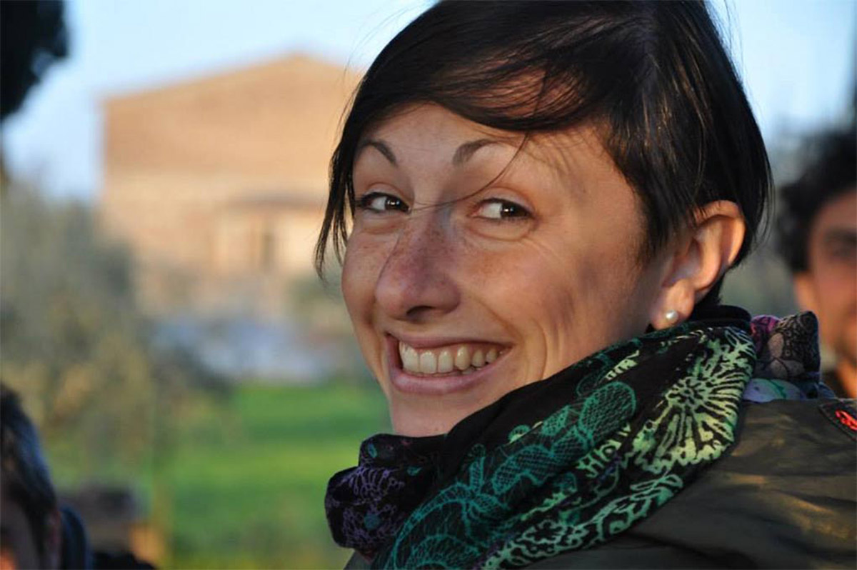 Federica Fantozzi guida ambientale Siena