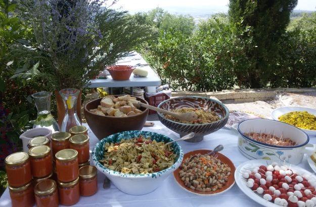 Val d'Orcio tuor food